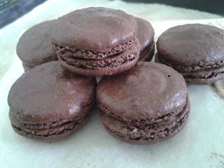 朱古力馬卡龍 chocolate macaroon