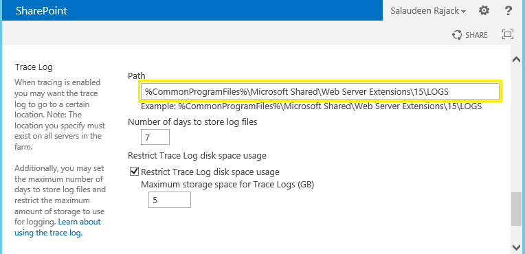 powershell new-splogfile sharepoint