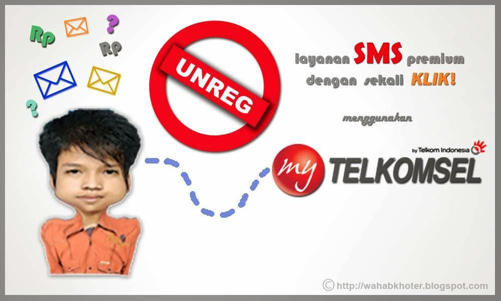 Deaktivasi Layanan Konten Premium-My Telkomsel Guru Pantura