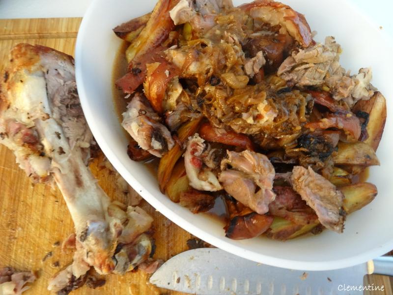 Le blog de clementine jarret de porc brais au cumin ail - Cuisiner le jarret de porc ...