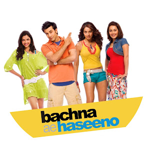 Poster Of Bollywood Movie Bachna Ae Haseeno (2008) 300MB Compressed Small Size Pc Movie Free Download worldfree4u.com