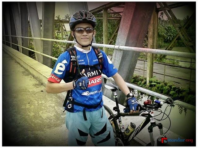 "Filosofi Bersepeda Versi ""Ichwal Fadh Sire"" Anggota Forum Sepeda Indonesia"