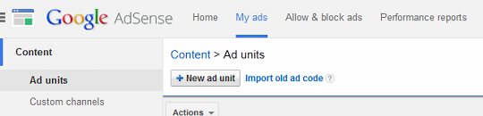 how to add google adsense code to my site