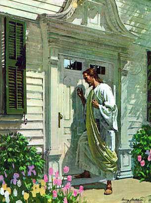 Uma rosa azul como fazer o evangelho no lar for Jesus a porta