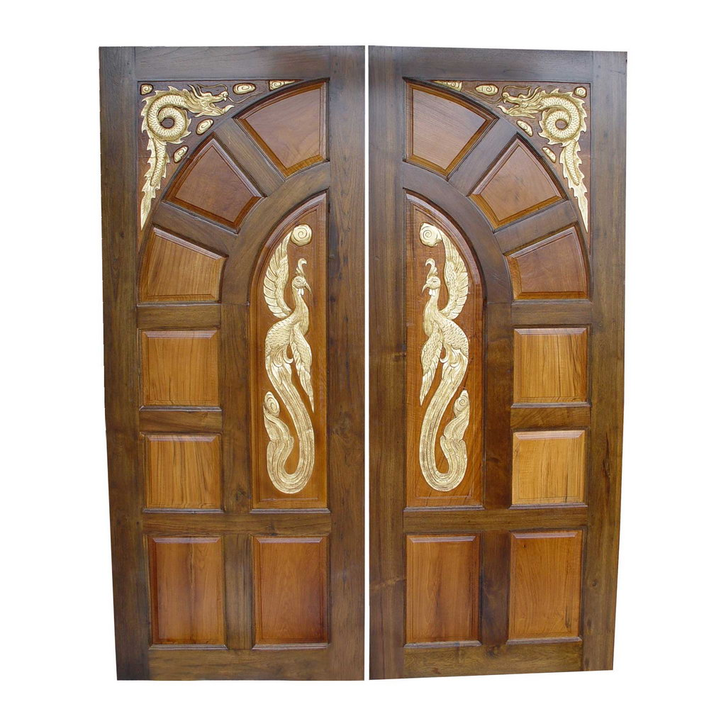 Front door design for Front double door designs indian houses
