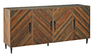 natural rustic wood sideboard and media cabinets