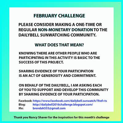February Challenge