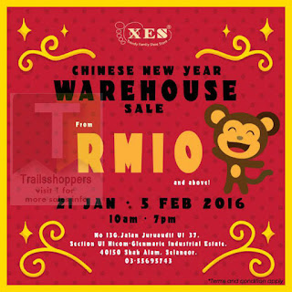 XES Shoes Chinese New Year Warehouse Sale