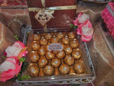 Hantaran Coklat Ferrero Rocher