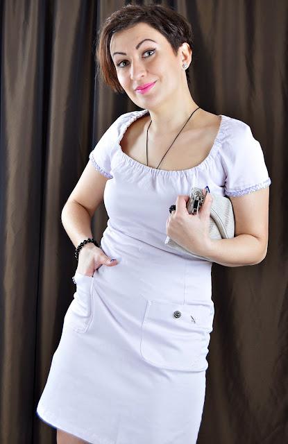 Pastelove Italian Style Mini Dress