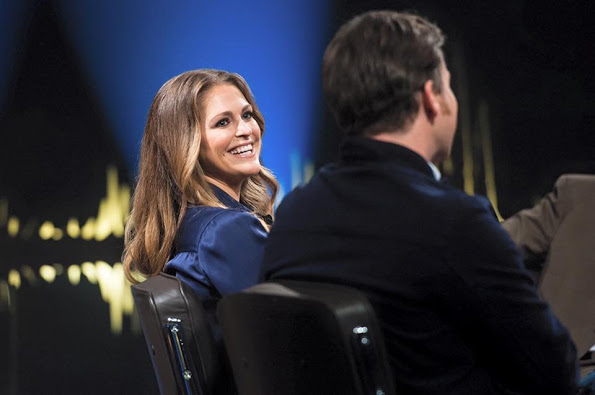 Skavlan Interview With Princess Madeleine And Chris O'Neill