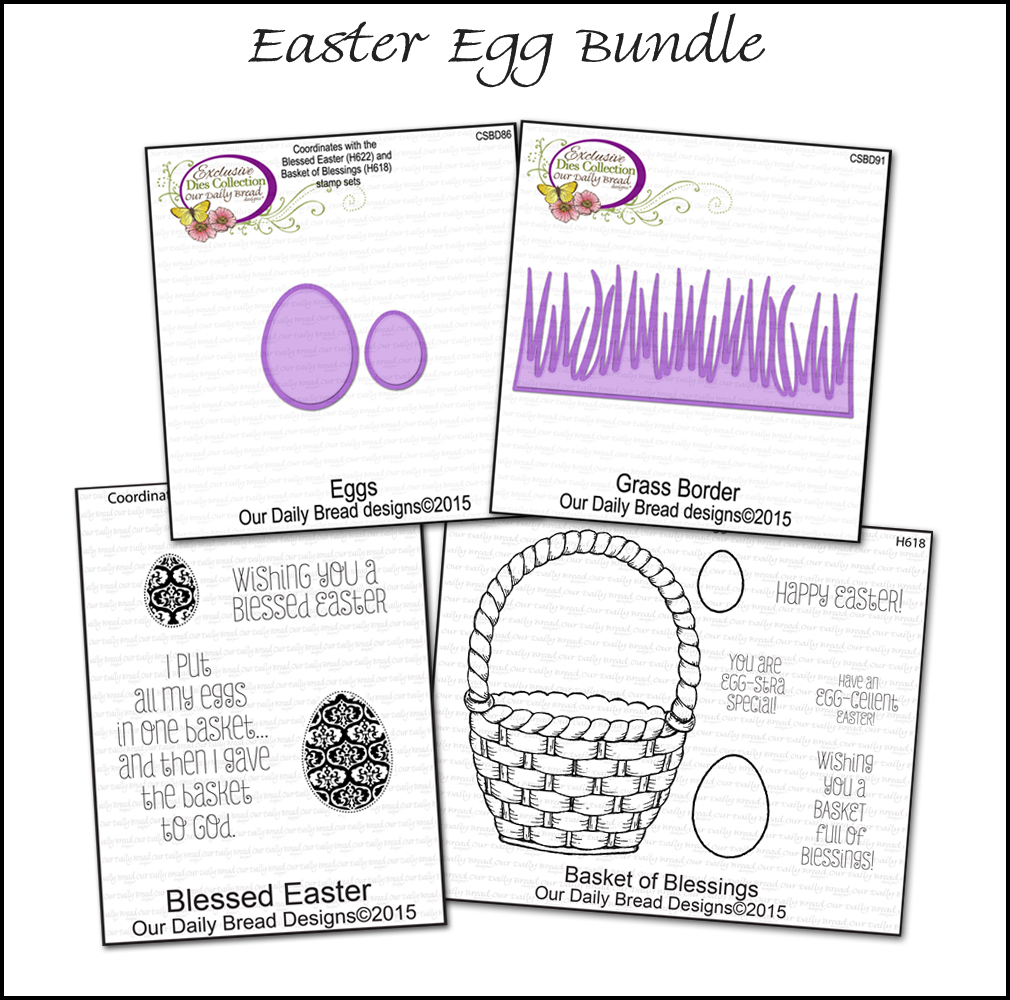 Our Daily Bread Designs March 2015 Easter Egg Bundle