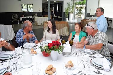 Nunes, filha, Costa e a esposa