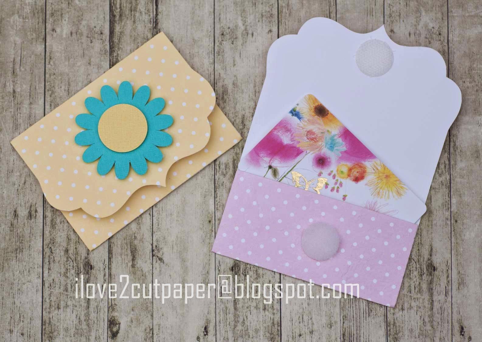 Gift Card cutting files