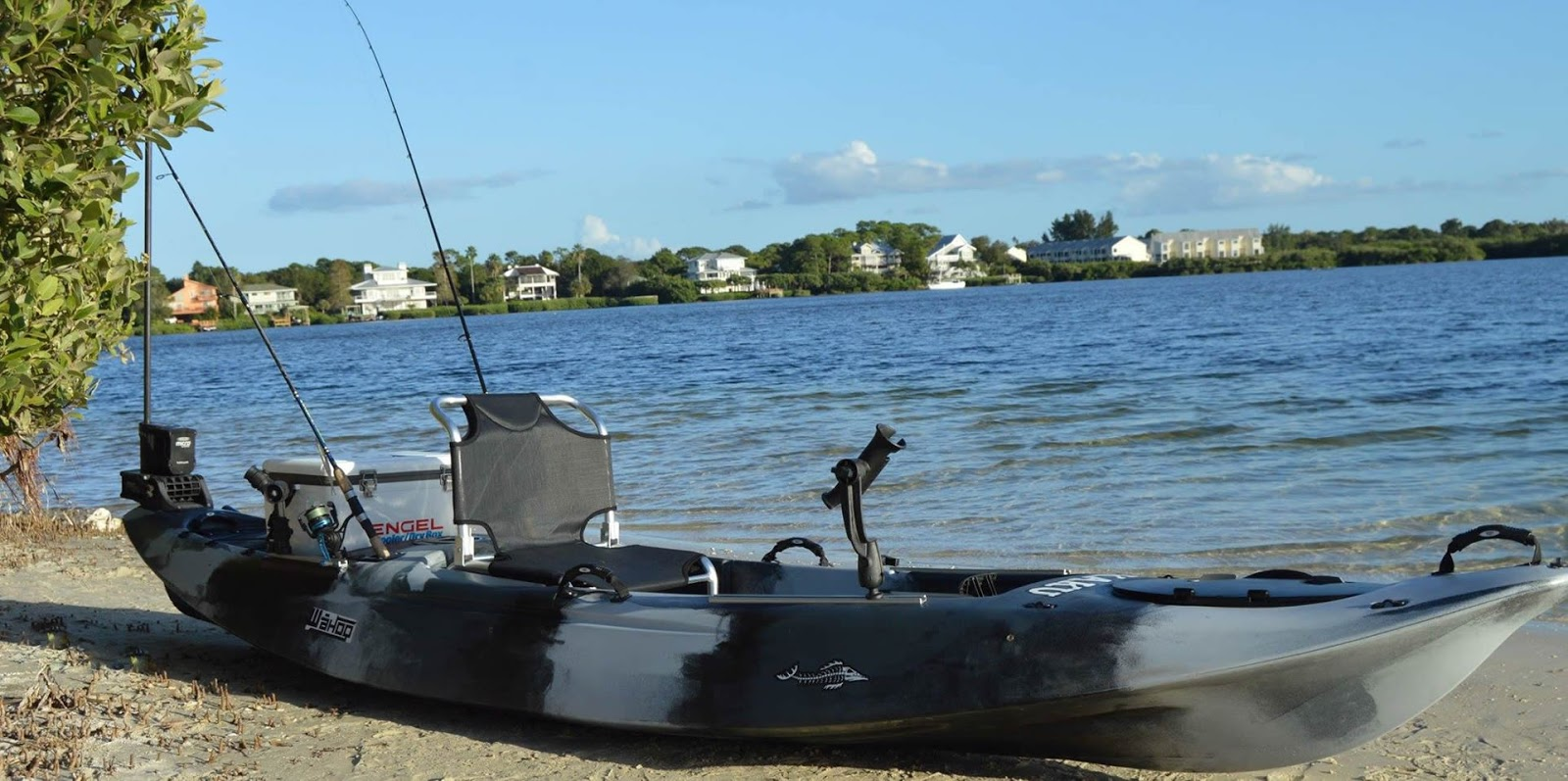The quest for the ultimate fly fishing kayak the kaku for Fly fishing kayak