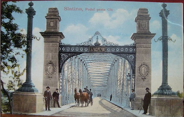 Vechiul pod peste Olt din Slatina