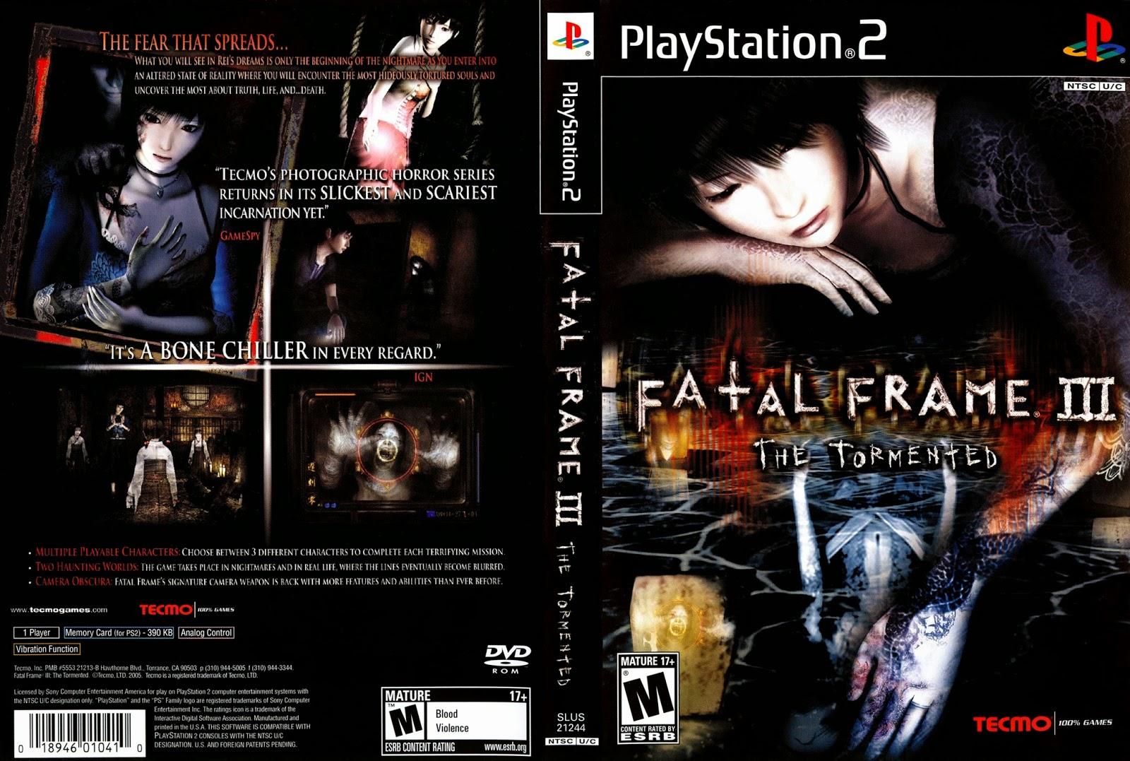 Download Game PS2 : Fatal Frame 3 ~ Riddle 4 Shared