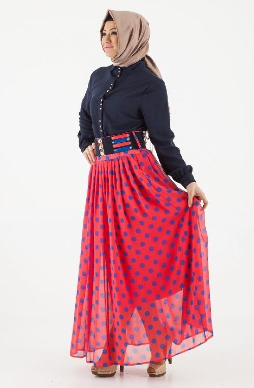 Puane Yazlık Uzun Etek Modelleri