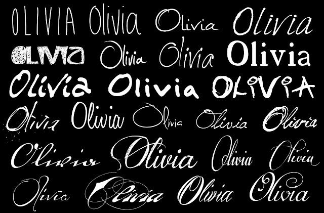 gabriel forbes  projet   olivia   test de font