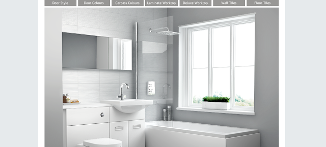Visualise Bathroom Planner Starting Bathroom