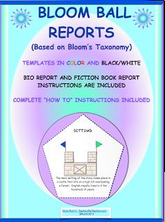 photo of Bloom Ball Reports, PDF, Ruth S. TeachersPayTeachers.com