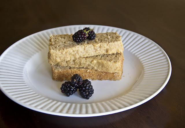 Healthy Vanilla Pound Cake