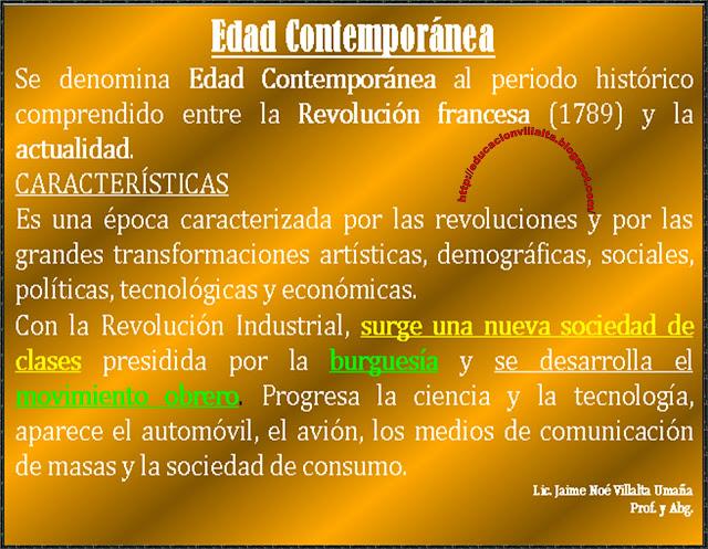 Ciencias sociales historia edad contempor nea - Diferencia entre arquitectura moderna y contemporanea ...