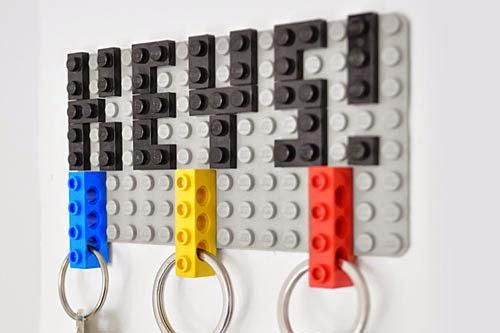 La Reines Blog Schlusselbrett Mit Schlusselanhanger Aus Lego