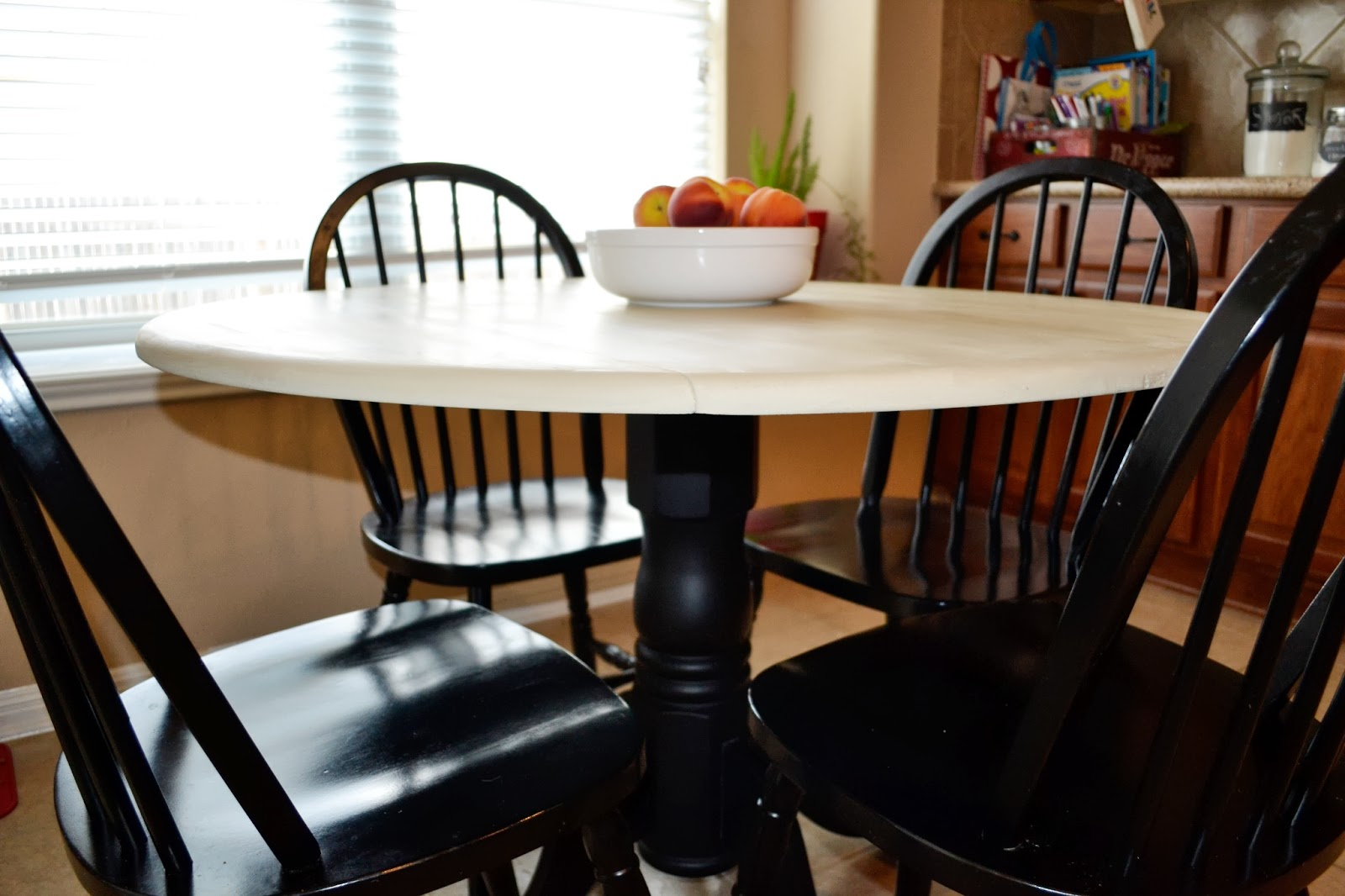 Your little birdie kitchen table makeover - Kitchen table redo ...