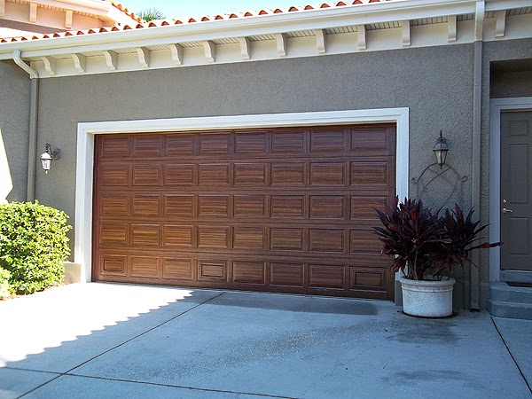 October 2014 everything i create paint garage doors to for Paint garage door to look like wood