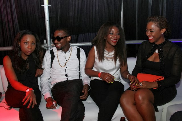 Dbanj and Genevieve