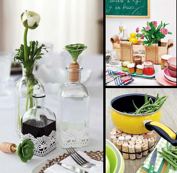 Material reciclado decorar tu casa es - Decoracion vintage reciclado ...