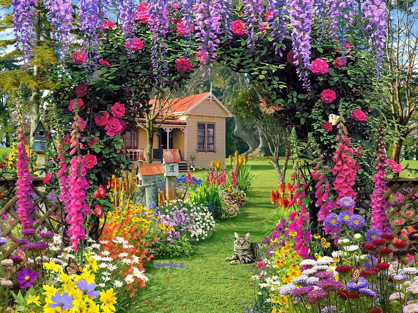 Amazing garden flowers wallpapers beautiful flowers for Amazing flower gardens