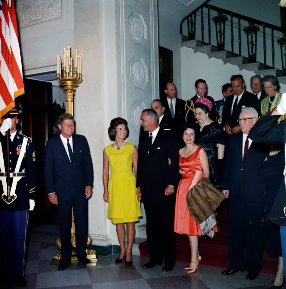 JFK, Jackie, and the Johnsons