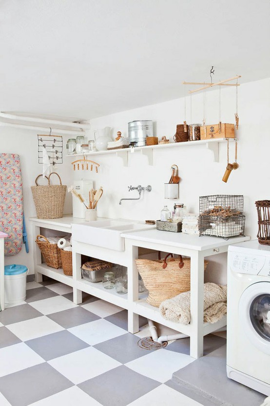 Un nuovo look per la lavanderia blog di arredamento e for Pila lavadero ikea