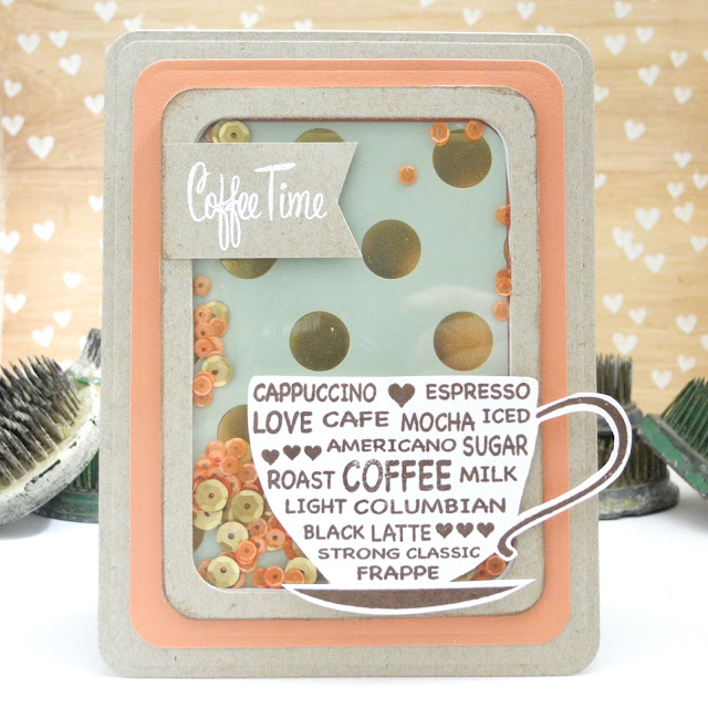 Coffee Time by Jennifer Ingle for Spellbinders #JustJingle #Spellbinders