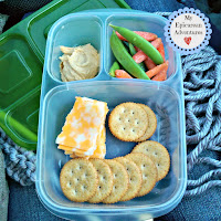 My Epicurean Adventures: Lunch Box Fun 2015-16: Week #17-18. Lunch box ideas, school lunch ideas, lunches, cheese and cracker lunchables