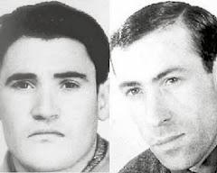 17 D'AGOST: 50 ANYS DE L'ASSASSINA DELS COMPANYS JOAQUIM DELGADO  I  FRANCISCO GRANADO