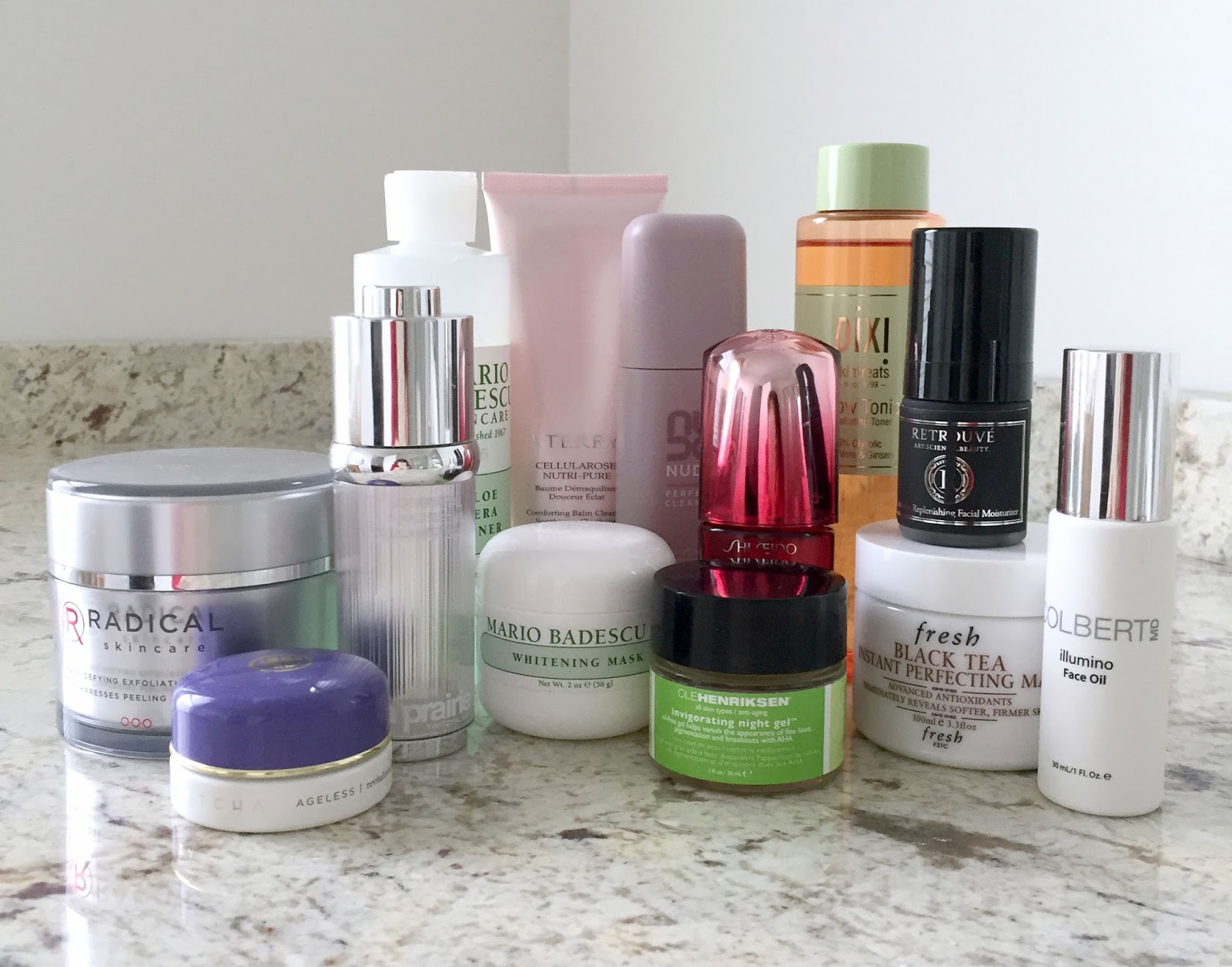 Skin care routine for mature skin