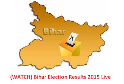 Bihar Election Results 2015 Live