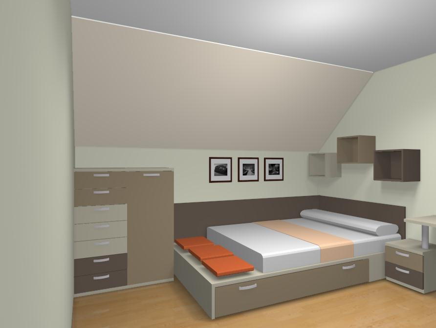 Ideas de dormitorios juveniles - Habitaciones juveniles 2 camas ...