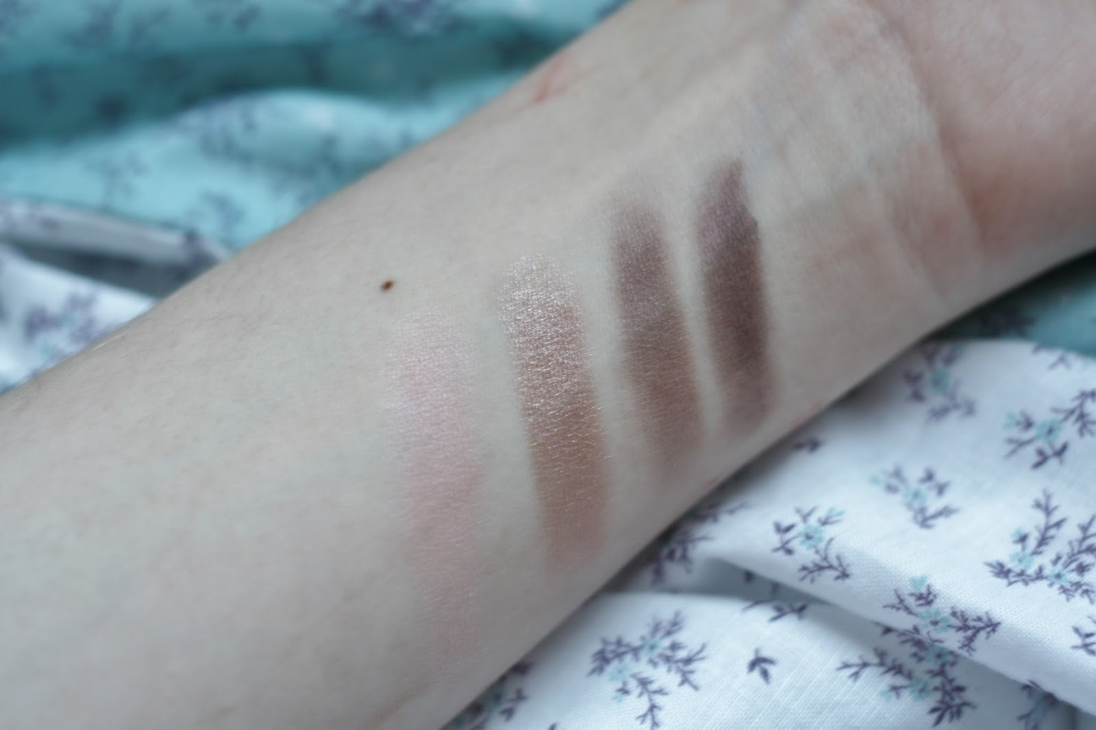 Nars Dual Intensity Eyeshadow Palette Swatches