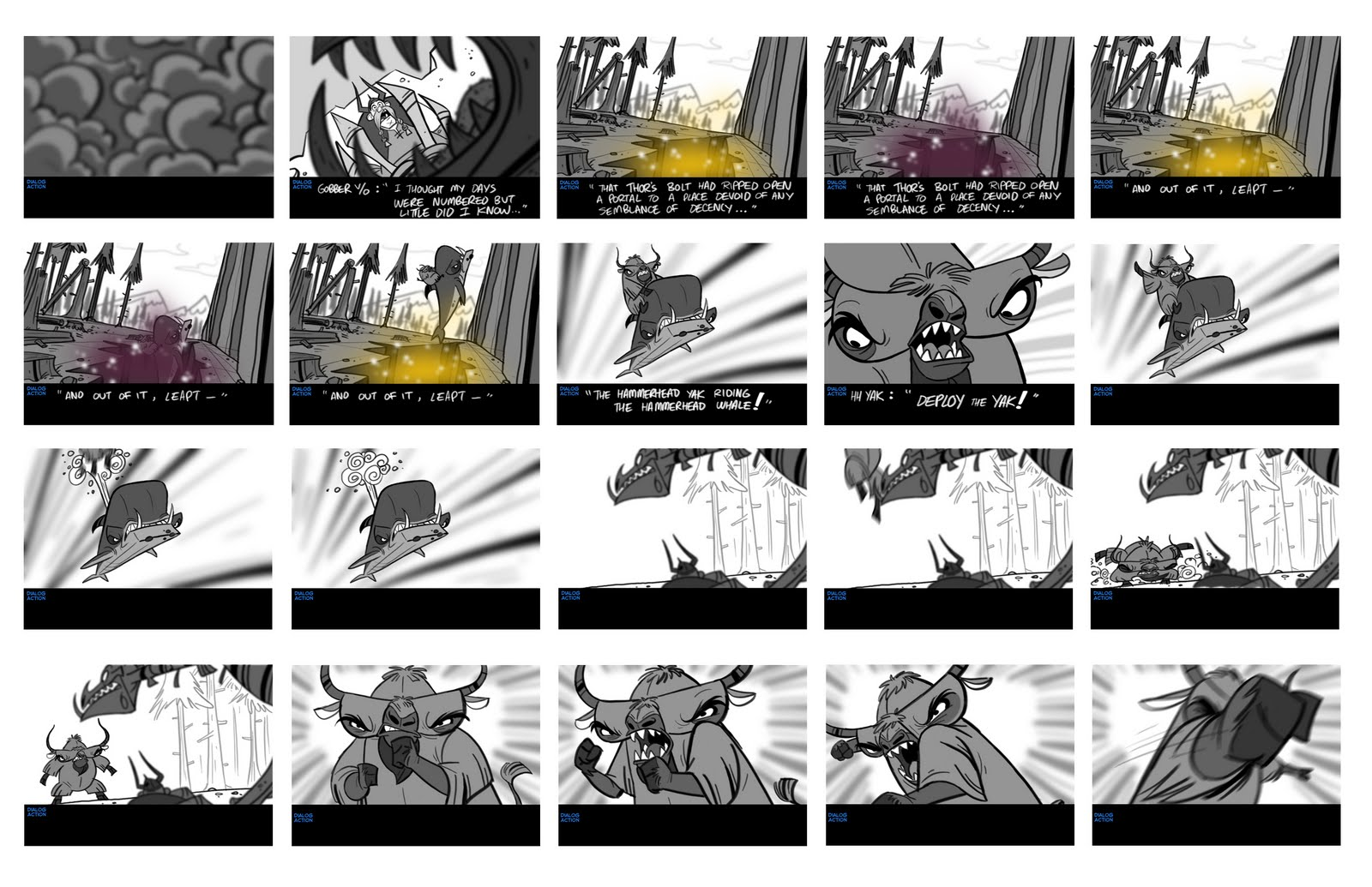 Elsa Chang Story Board  Animatics  Storyboards