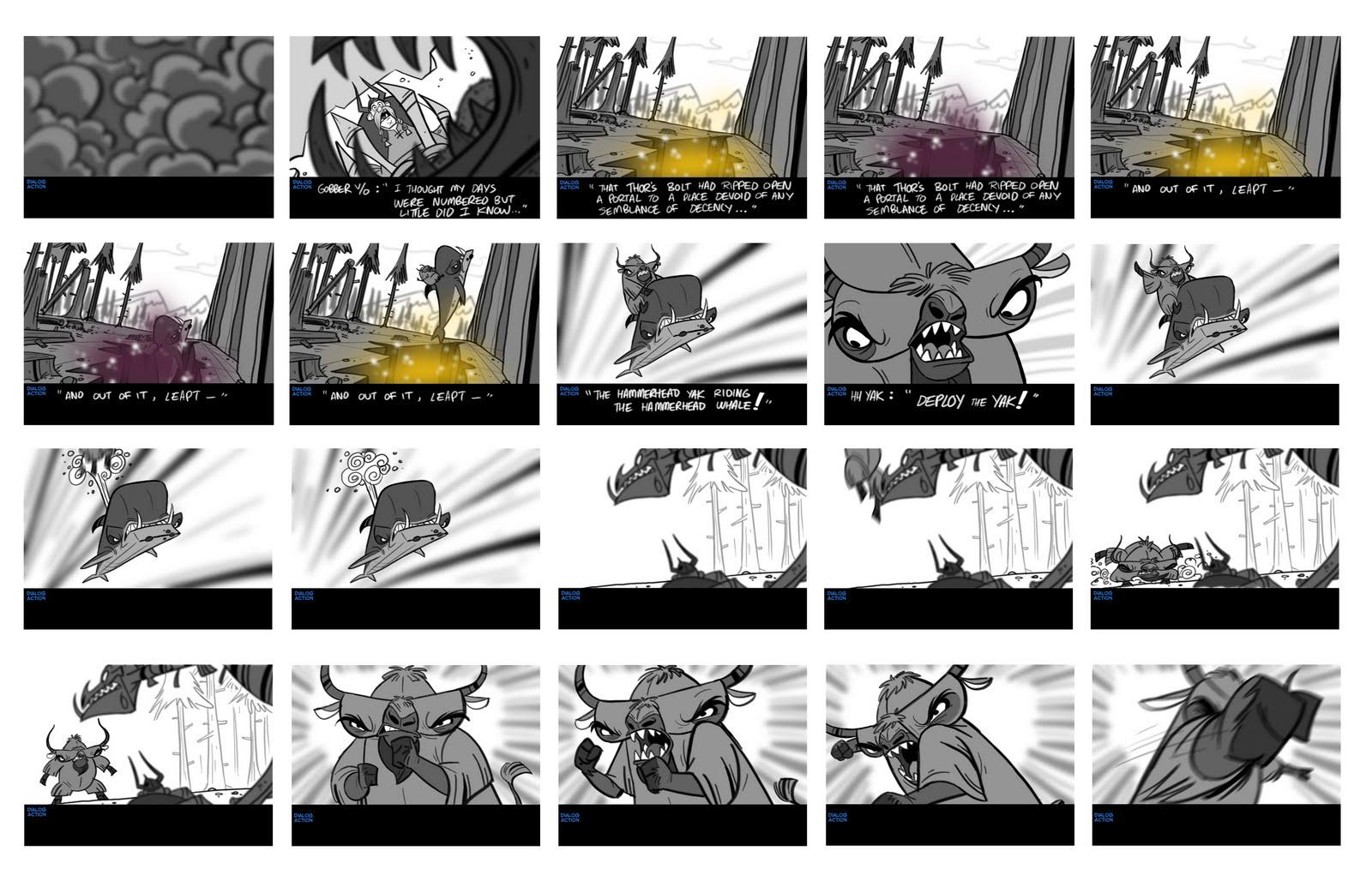 Elsa Chang Story Board  Animatics  Storyboards
