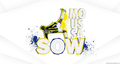 Moussa Sow Senegalese Goal Machine Super Striker Fenerbahçe Turkey Hd Desktop Wallpaper 2