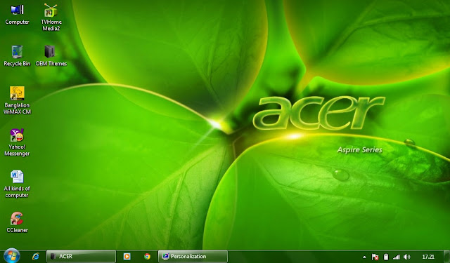 download acer laptop theme for pc