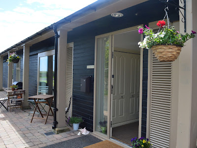 Waterside view cottage exterior, Alnmouth. North East Family Fun Review
