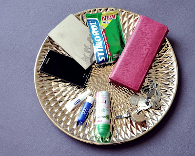 What's in your bag? The essentials.