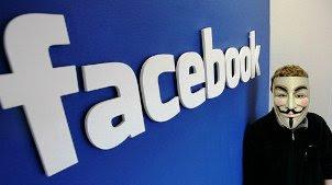 مجموعة قراصنة الحواسب تهدد بتدمير فيسبوك يوم 5 نوفمبر القادم