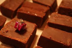 Receta Caramelos de Chocolate
